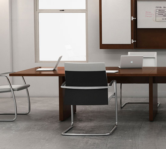Haworth Executive Wood Conference Table Executive Tables