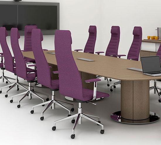 Haworth Planes Executive Table
