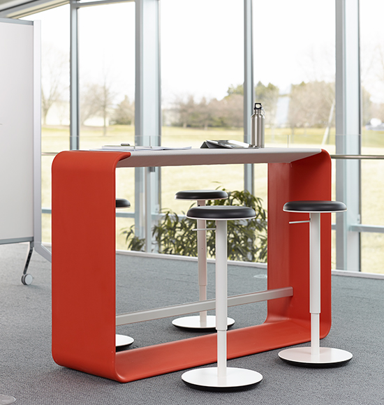 Haworth Hoop Table Products Inspiring Workspaces By Bos