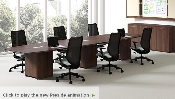 HONPRESIDE WOOD X Inspiring Workspaces By BOS - Hon preside table