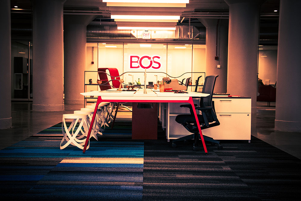 bos opens new chicago showroom inspiring workspaces by bos
