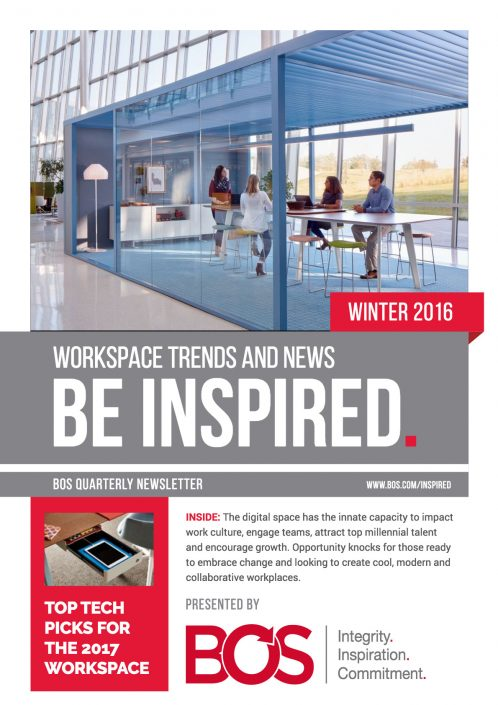 Be Inspired Winter 2016 Newsletter