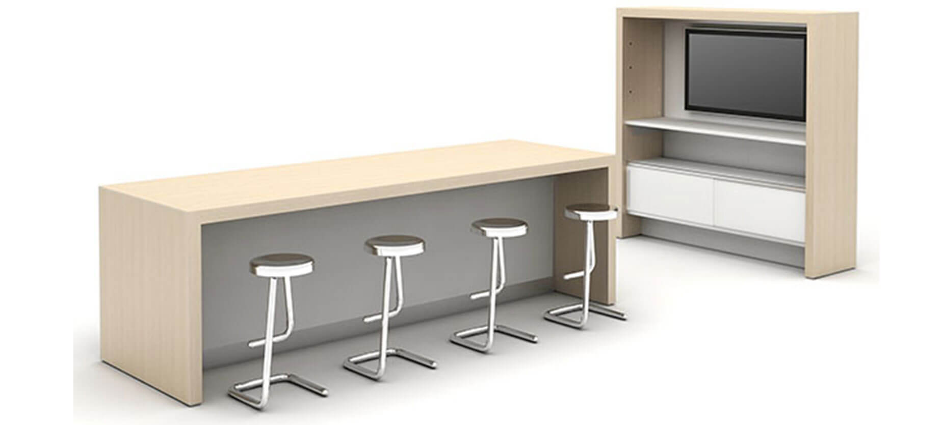 Standing-Height Worksurface