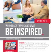 Be Inspired Spring 2018 Newsletter Industry Trends