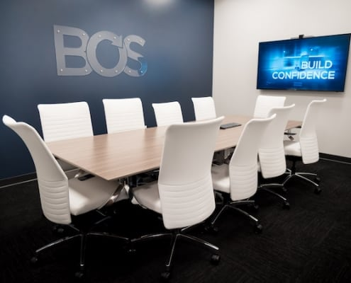 BOS conference table