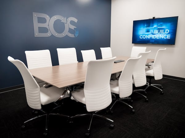 BOS conference table meeting rooms
