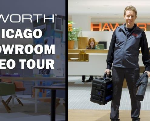 Haworth Chicago Showroom Video Tour