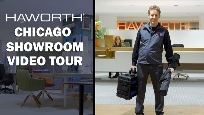 Haworth Chicago Showroom Video Tour