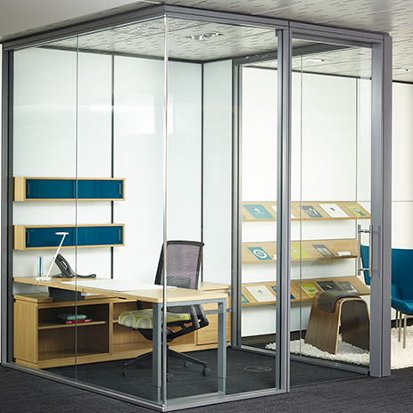 Haworth Enclose Frameless Glass Products Inspiring