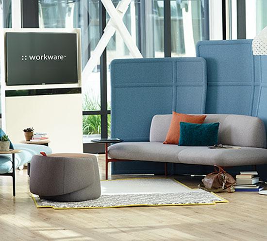 Haworth Openest Collection Familiar Lounge Furnishings