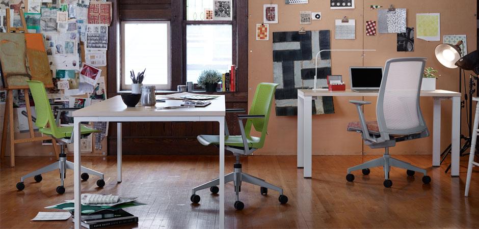 Haworth Reside Desk