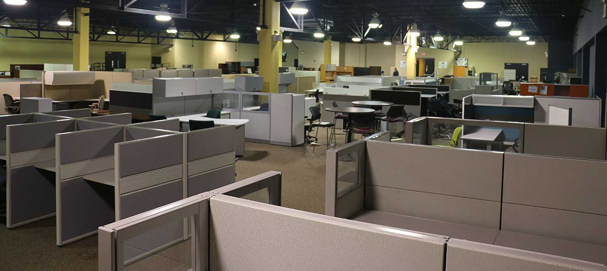 Office Furniture Fabric Reconfiguration and Refurbishing