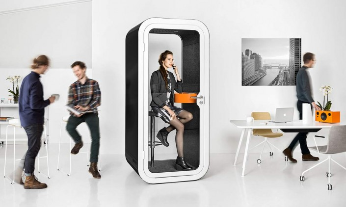 Framery O Phone Booth Solves Noise Problems