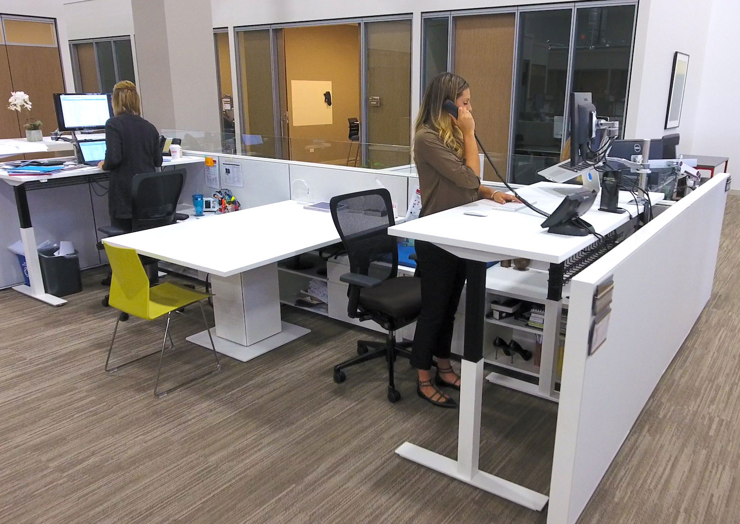 Sit to Stand Tips and Tricks Height Adjustable Desks