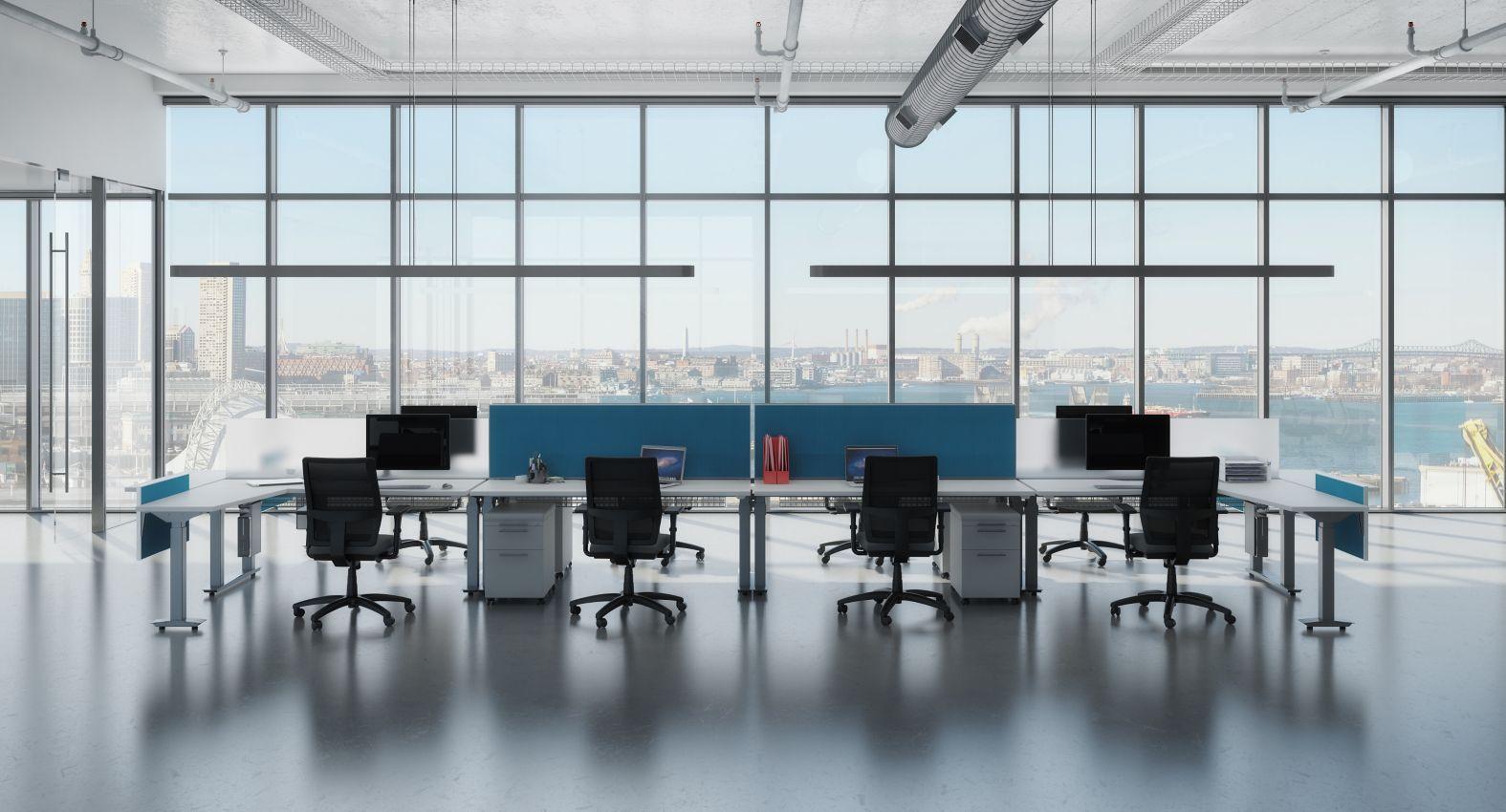 AIS Aloft Height Adjustable Sit to Stand Desks