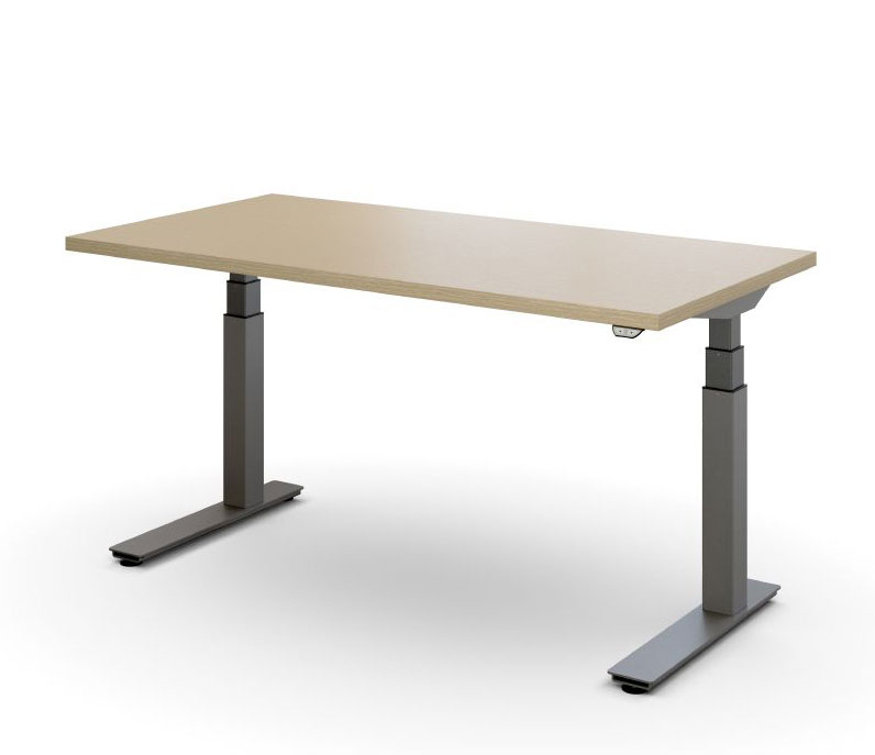 Haworth Planes Height Adjustable Sit to Stand Desks
