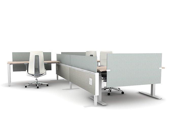 Haworth Compose Connections Non-Panel System Solution