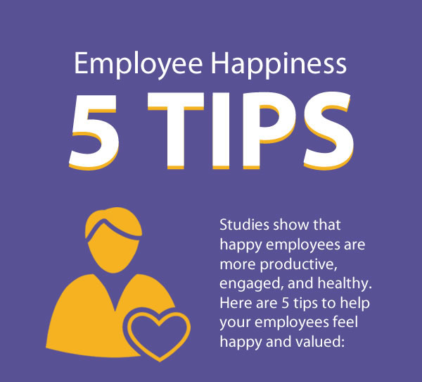 5 Tips for Employee Happiness