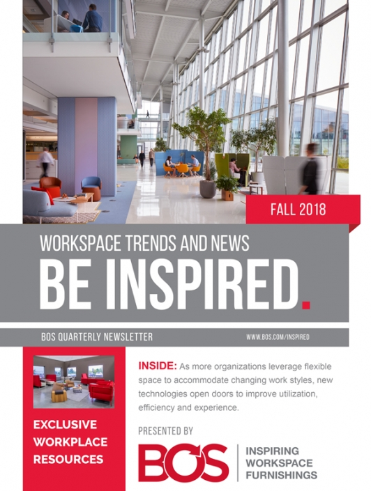 BOS Be Inspired Fall 2018 Natural Elements Outdoors into the Work Environment