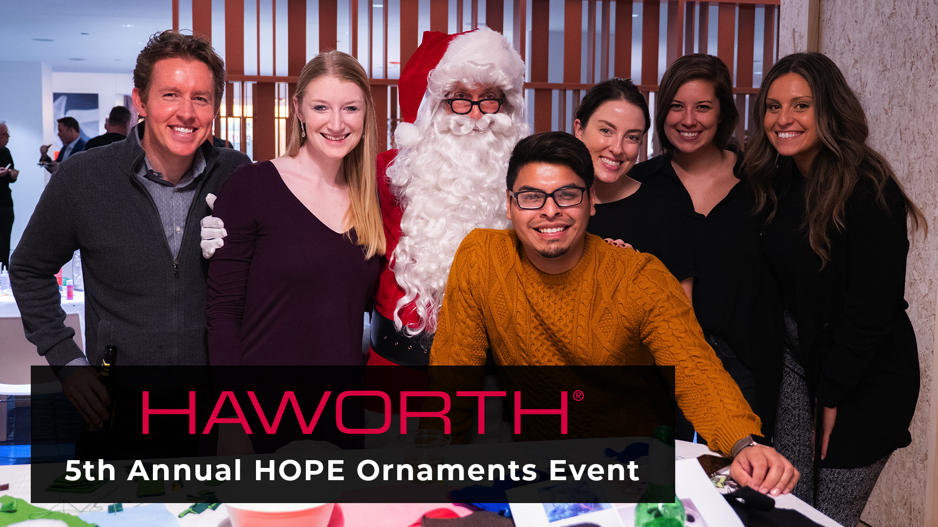 Haworth HOPE Ornaments 2018