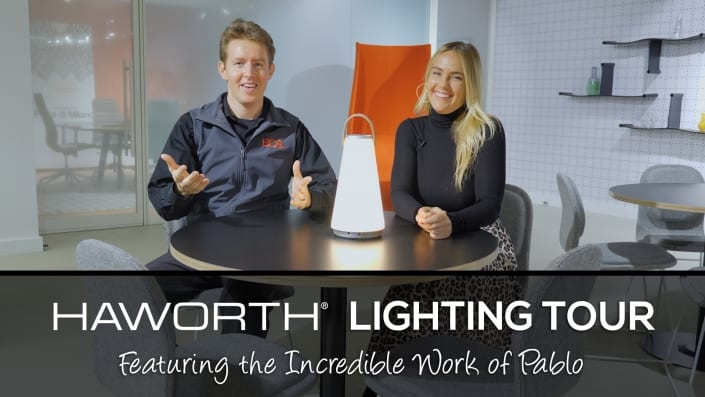 Haworth Lighting Tour - Featuring The Incredible Work of Pablo