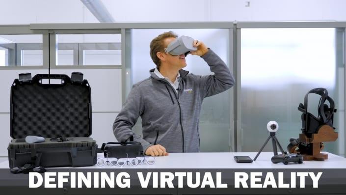 Defining Virtual Reality