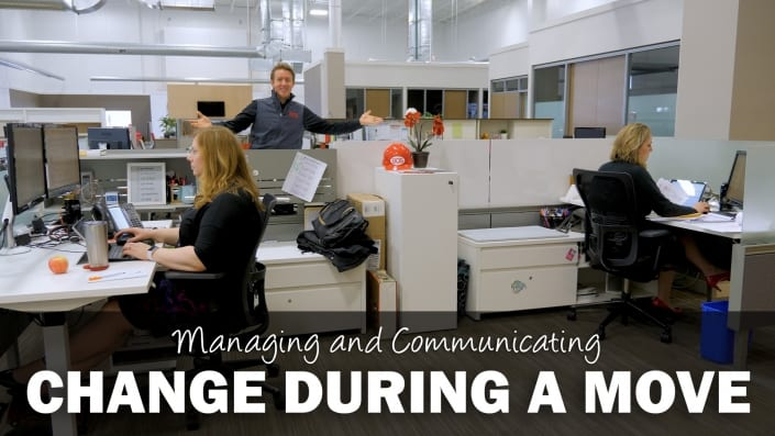 Managing and Communicating Change During a Commercial Move