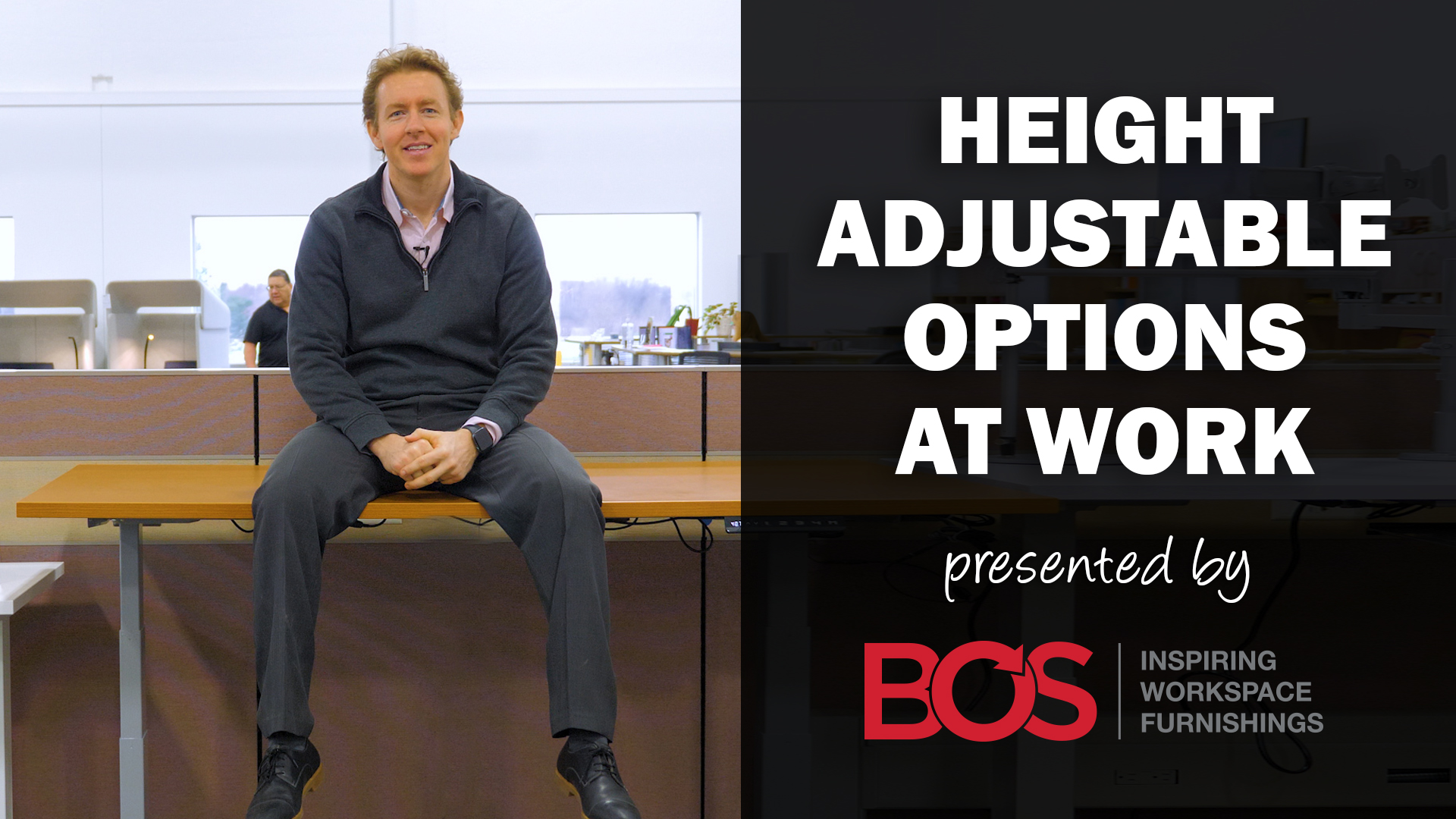 Height Adjustable Options at Work