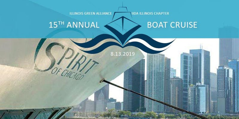 IIDA & Illinois Green Alliance Boat Cruise Event Image