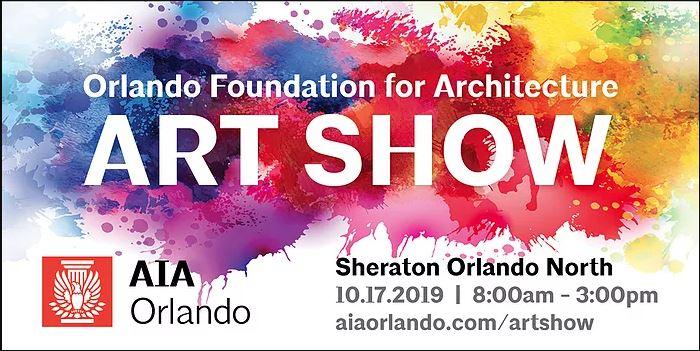 aia art show banner