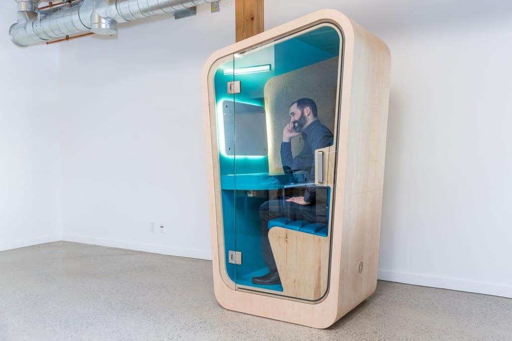 Loop Phone Booths   Inspiring Workspaces by BOS