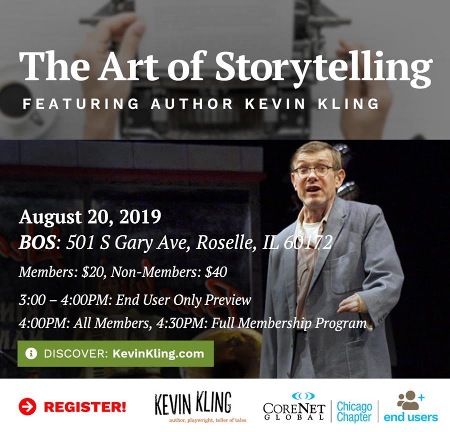Corenet Global Art of Storytelling