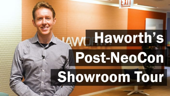 haworth showroom tour