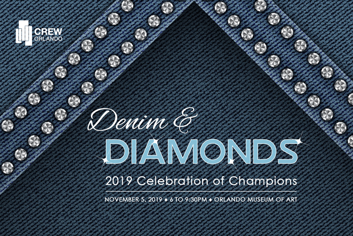 denim and diamonds CREW event