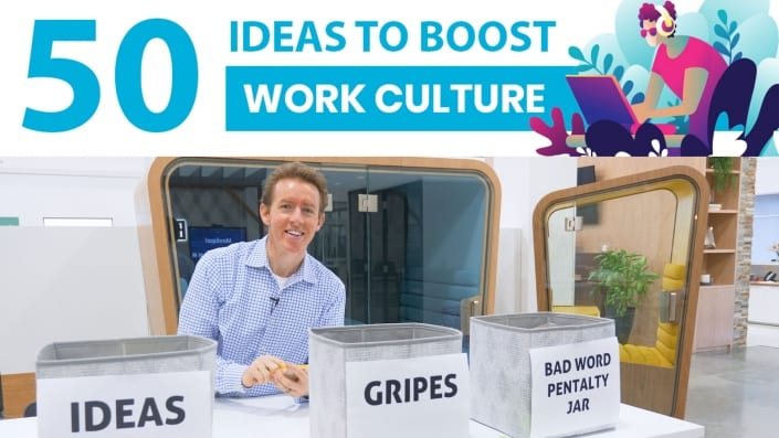 50 Ideas to Boost Work Culture